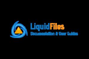Liquid files logo